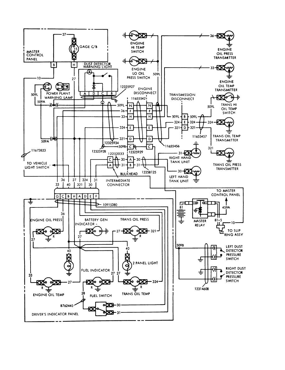 Figure 6 1 Power Plant Warning And Indicator Transmitter Circuits Circuit Schematic Diagram
