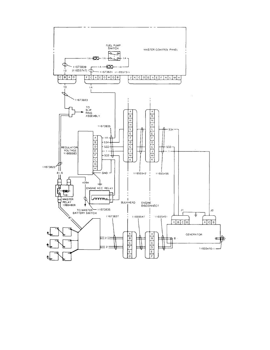 Generator  Regulator Circuit