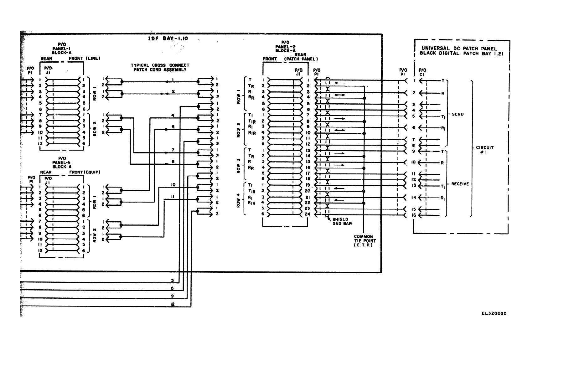 figure fo 13  typical black digital circuit idf connection diagram