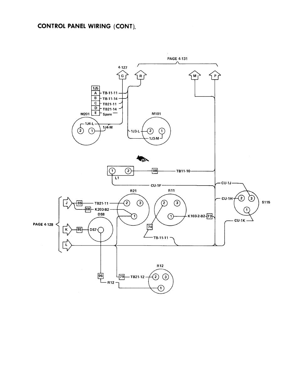 control panel wiring  cont