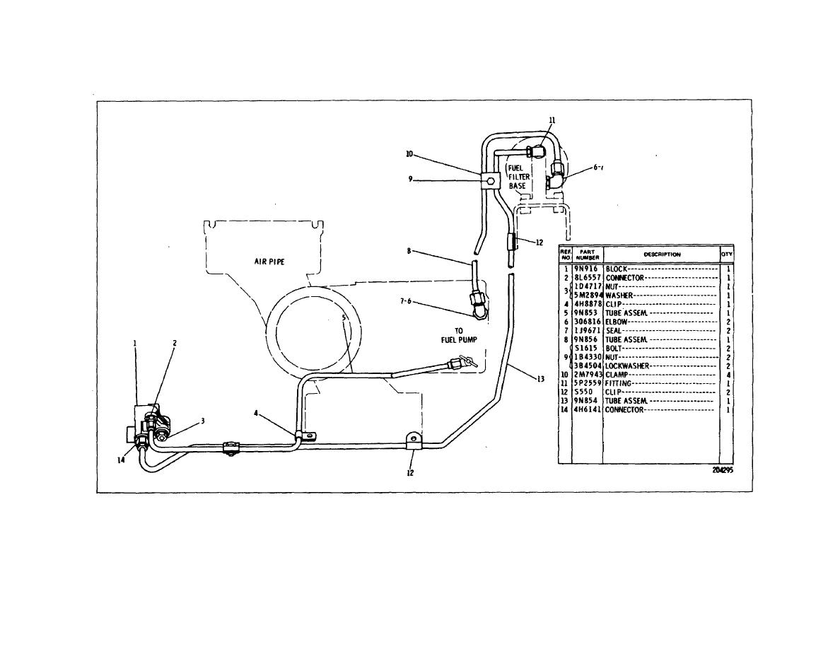 industrial engine fuel filter