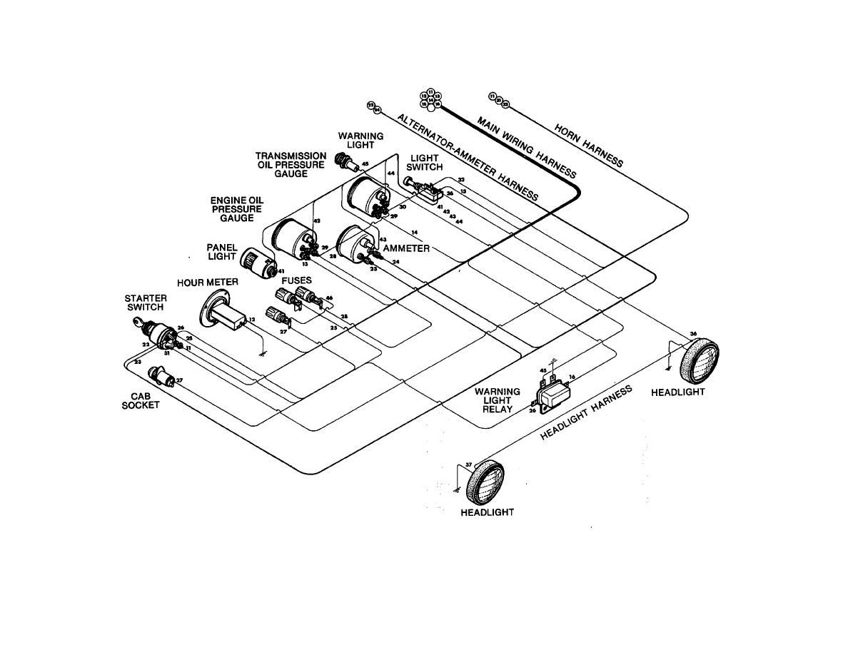 console area wiring tm 5 3895 349 14 p0799. Black Bedroom Furniture Sets. Home Design Ideas